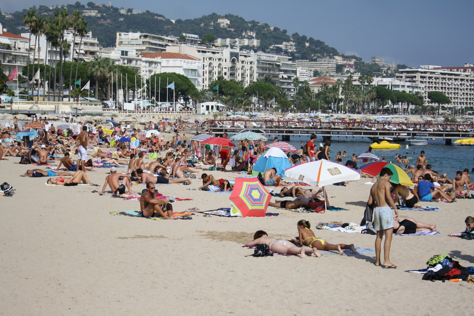 cote d azur plage - Photo