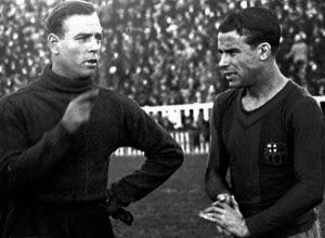 Josip Samitier et Ricardo Zamora