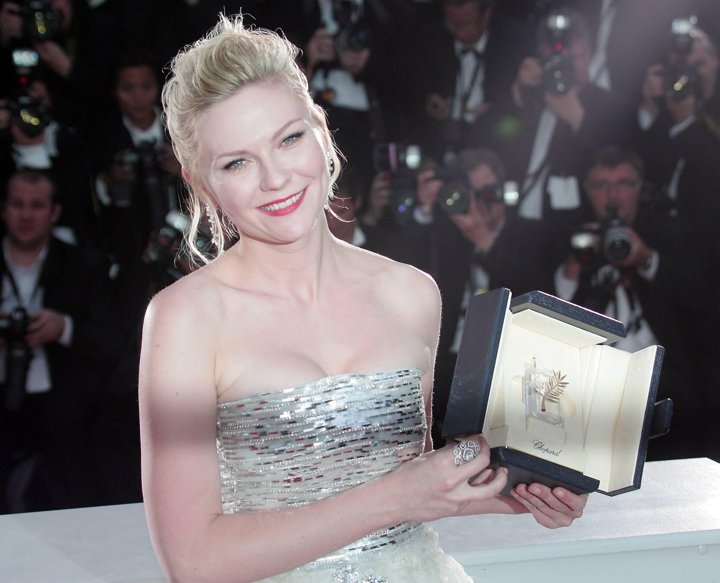 Kirsten Dunst festival de cannes prix d'interprétation féminin 2011
