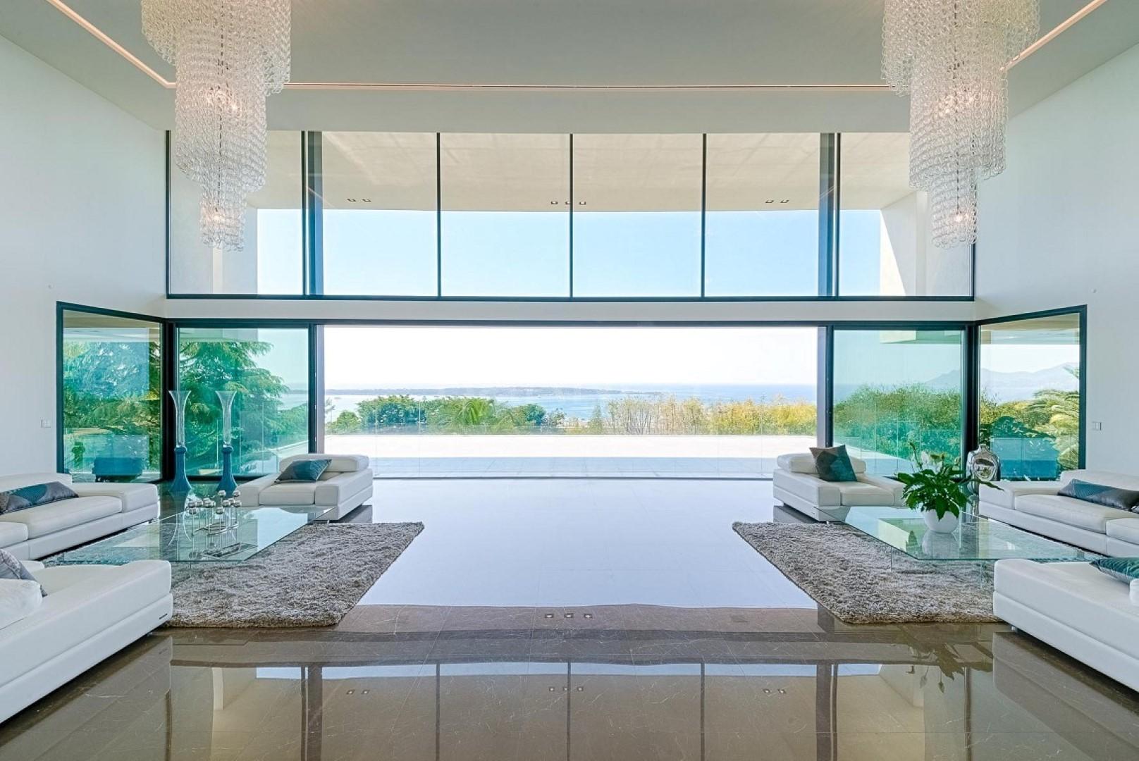 Photos offrez vous une villa de r ve cannes pour 35 m for Interieur sud cannes