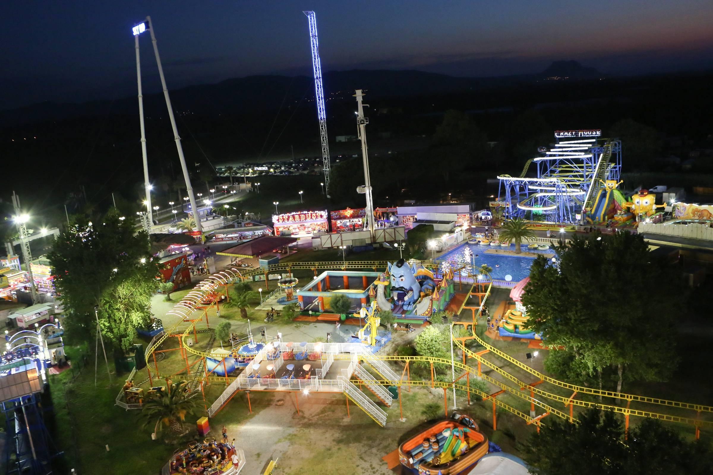 parc attraction var