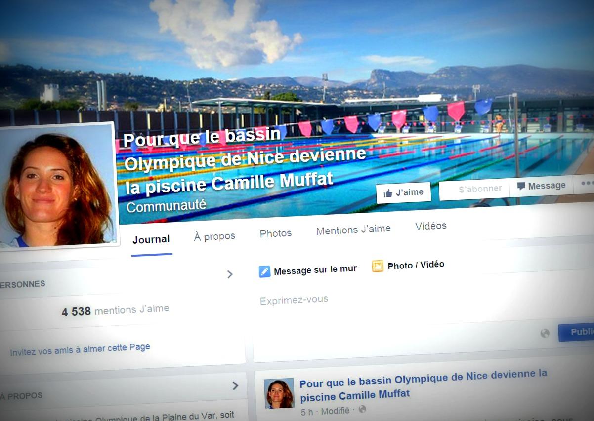 Une page facebook pour renommer le bassin olympique de for Piscine olympique nice