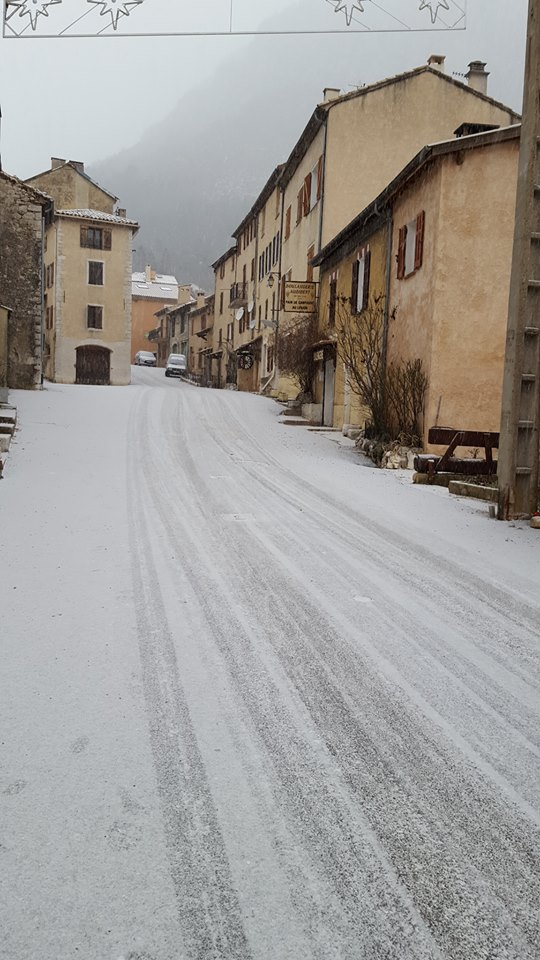 neige caille
