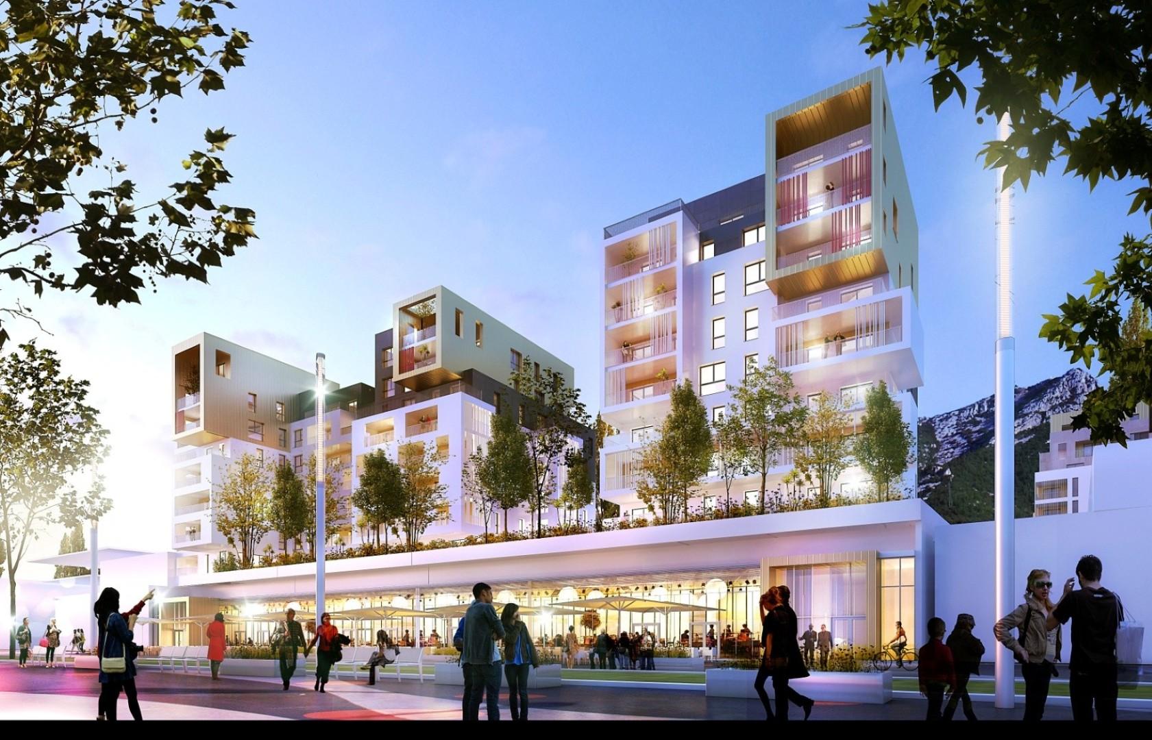 Dossier un centre commercial de la place de for Ville du 51