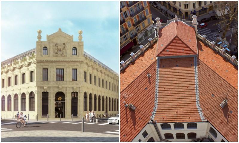 Photos le toit de l 39 h tel des postes nice transform en for Jardin wilson nice